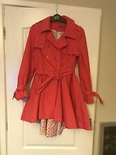 Beautiful Coral Jacket Sz 10 Excellent Condition Summer Flare Style