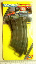Micro Scalextric - G.106 curved track - 45 degrees - pack of 2
