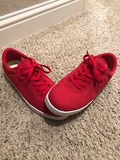 USED Men's Nike Eric Koston SB Shoes With Box Size 11.5 Red Sneakers Rare Luxury