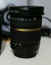 Tamron SP AF 10-24mm F/3.5-4.5 DI II --COME NUOVO- attacco canon ef ef-s mount