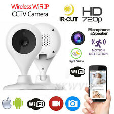 WiFi 720P HD Wireless IP Clever Dog Monitor Home Security Night Vision Camera
