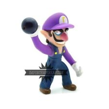 SUPER MARIO BROS. WALUIGI ACTION FIGURE odyssey bowser new wii u wario switch jr