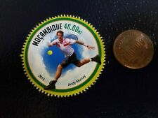 New listing Andy Murray USA USTA Tennis 2013 Mocambique Perforated Perforated Stamp