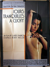 Claude Chabrol : Jours Tranquilles A Clichy : POSTER