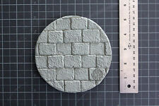 Round Resin Model Base top # 1 bricks