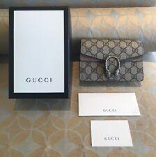 Gucci Dionysus GG Canvas Super Mini Crossbody Chain Bag