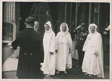 PARIS c. 1930 - Sultan du Maroc Mohammed V à l'Élysée - PRM 442