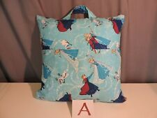 "Reader, Pocket Pillow with Elsa, Anna, Olaf Frozen - 16"" by 16"" Pillow included"