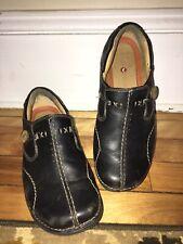 Clarks Unstructured Artisan Unloop Slip On Comfort Casual Shoes Black Size 7