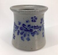 Eldreth Pottery Salt Glaze Crock Jar Vase Pot