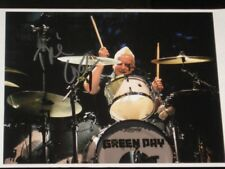 """GREEN DAY - TRE COOL - SIGNED 8"""" X 10"""" COLOUR PHOTO"""