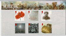 2014 THE GREAT WAR 1914 ROYAL MAIL PRESENTATION PACK No.501