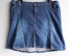 Liz Lange Maternity Stretch Denim Jean Skirt Size 16