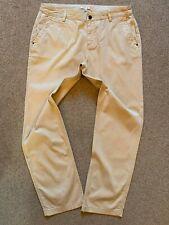 Orvis Womens Beige Tapered Leg Chinos UK 12