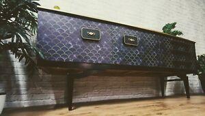 Luxury Vintage Art Deco Gatsby TV Media Unit Sideboard Credenza Buffet Console