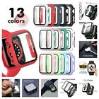 Apple Watch Series 7th/6/SE/5/4/3/2/1 360* Full Cover Tempered Glass Case Cover
