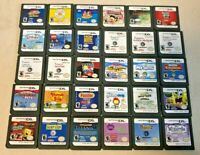 Assorted Nintendo DS/2DS/3DS Games for All Ages - ALL TESTED, CARTRIDGE ONLY