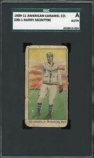 1909-11 E90-1 American Caramel   Harry McIntyre   Dodgers      SGC  !!