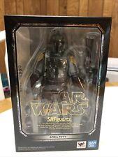 SH Figuarts Boba Fett Star Wars Return of the Jedi COMPLETE (Opened Box)