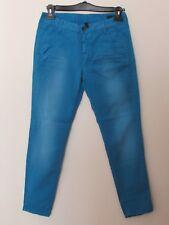 Benetton Jeans - pantalone casual donna colore azzurro acceso, taglia 42