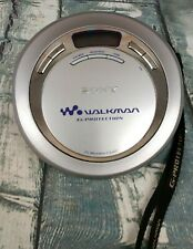 Sony Walkman G-Protection Cd Walkman Player D-Ej621 Tested 2 Fresh Duracell Aa's