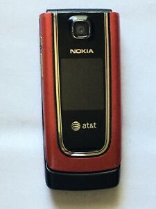 Used  - Nokia* Model 6555 RM-289 (Red) For Parts or Repairs Only Cell Phone