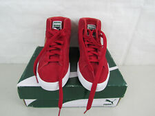 Puma Suede Classic Mid Toreadore ( Red ) Shoes Mens Size 7-Very Good Condition