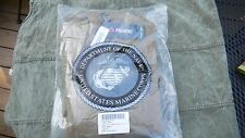 New USMC Polartec 100 Fleece Pullover Jacket Coyote Brown Small (New in Package)