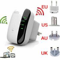 Hot WiFi Range Extender Super Booster 300Mbps Superboost Boost Speed Wirele O2V5