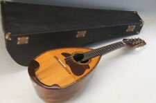 MINT Japan SUZUKI Mandolin 1968 NO.130 w/case Free Shipping 306f03