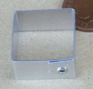 2cm Diameter Square Metal Cake Cutter Tumdee Dolls House Miniature Sugarcraft