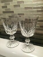 2 Royal Brierley Crystal Wine Glasses set of 2 Vintage Crystal