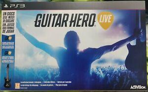 Guitar Hero Live Ps3 Nuovo Con Chitarra Sigillato