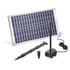 Solar Teichpumpe 25W 875l/h Solarpumpe Gartenteich Springbrunnen esotec 101913