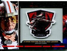 Star Wars Galactic Files Embroided Patch Relic Card PR-1 Garvin Dreis