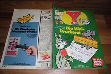 YPS Comic # 18 -- mit BLACK BEAUTY+INDIANER von Hans Kresse+HECTOR ARAGON / 1976