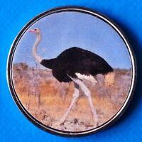 Benin 10 Francs CFA 2018 UNC Ostrich unusual coin