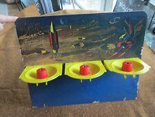 Triple Target Action Toy Lunar Launcher Dart Gun Game Parts (Back Board)