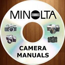 MINOLTA X-370 x370 SERVICE MANUAL, Illus PARTS, OWNER INSTRUCTION -4- Manuals CD