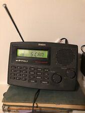 Uniden Bearcat BC244CLT Programmable 30-Channel Police Scanner Alarm Clock