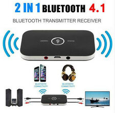 2in1 Bluetooth 4.1 Transmitter Receiver Wireless A2DP Audio Adapter Aux 3.5mm