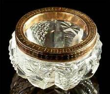 Faberge - Russian Imperial Gold & Cut Glass Bowl