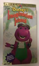 Barney VHS Tape Imagination Island  Children's Video