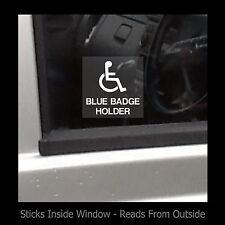Blue Badge Holder - Window Sticker / Sign - Access, Disabled, Parking