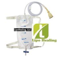 Urine Leg Bag Collector Catheter Male PORTABLE Wearable Men's Urinal 750ml KIT