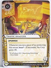 Android Netrunner LCG - 1x #075 Traffic Analyzer-Blood and water