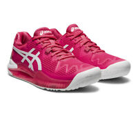 Asics Womens Gel-Resolution 8 Tennis Shoes Pink Sports Breathable