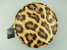 NEU Primark Leopard Clutch Handtasche Rockabilly Makeup Tasche Kosmetiktasche