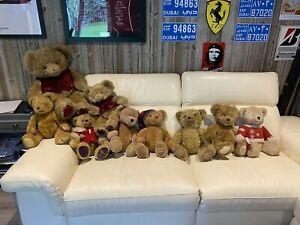 Harrods Teddy Bears x9 Dating From 1996-2008