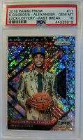18-19 Panini Prizm Fast Break Luck of the Lottery Shai Gilgeous-Alexander PSA 10